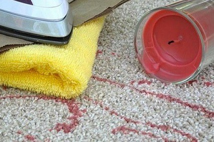 How to Remove Candle Wax from Carpet Without an Iron in 3 Steps