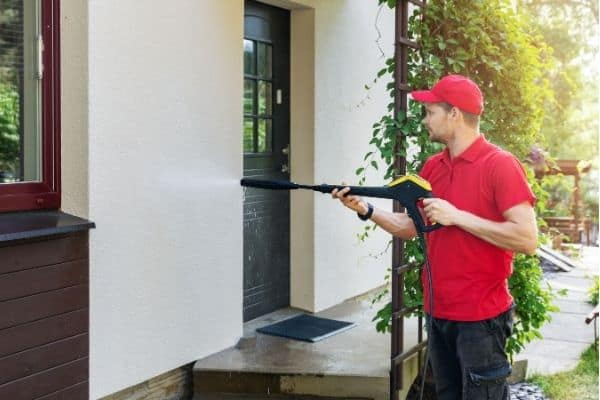 how many psi needed to pressure wash house