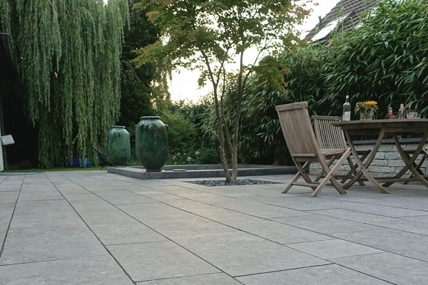 how to clean limestone patio