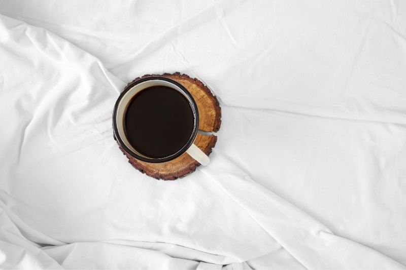 how to get a coffee stain out linen