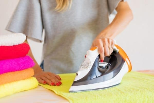 woman ironing clothes 1