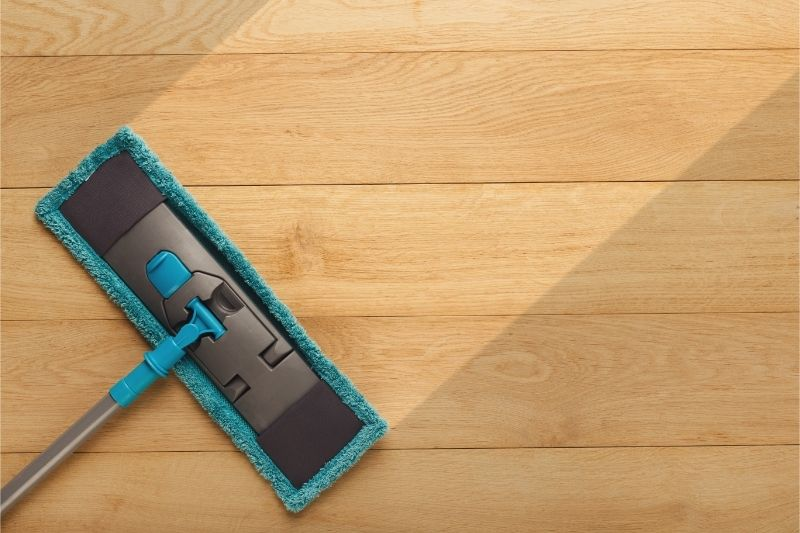 best way to clean and shine laminate wood floors