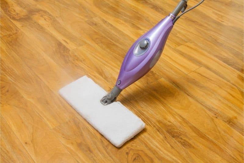 can i use a steam mop on hardwood floors