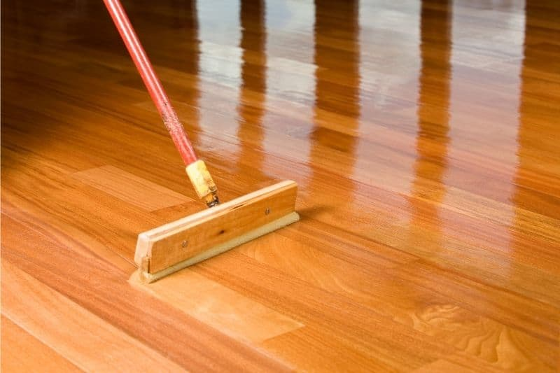 polyurethane wood floors drying time