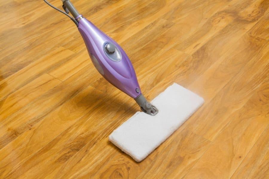can you steam mop vinyl flooring