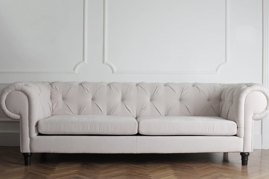 can you use a steamer to clean a microfiber couch
