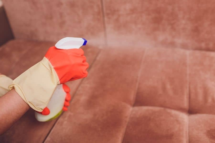 condition the couch fabric