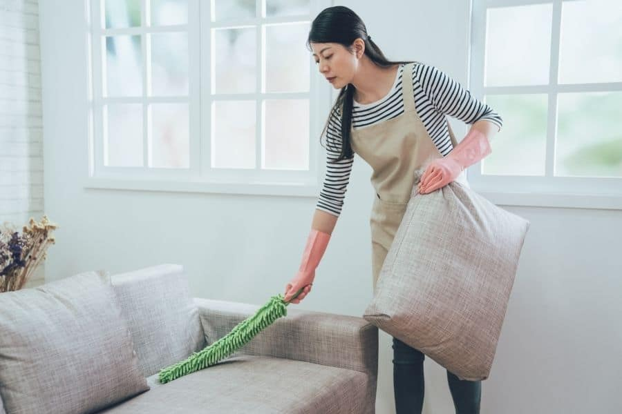 how to clean couches without steam cleaner