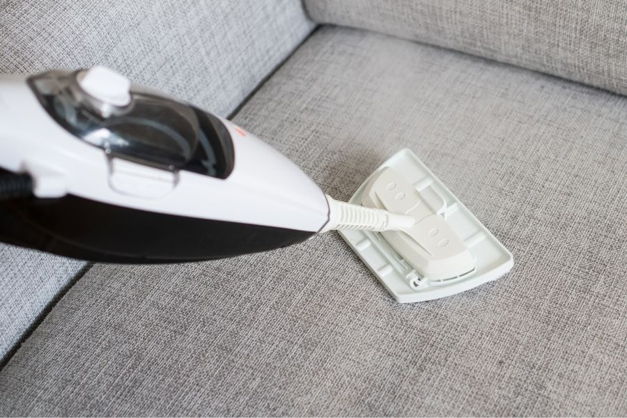 steam clean your couch