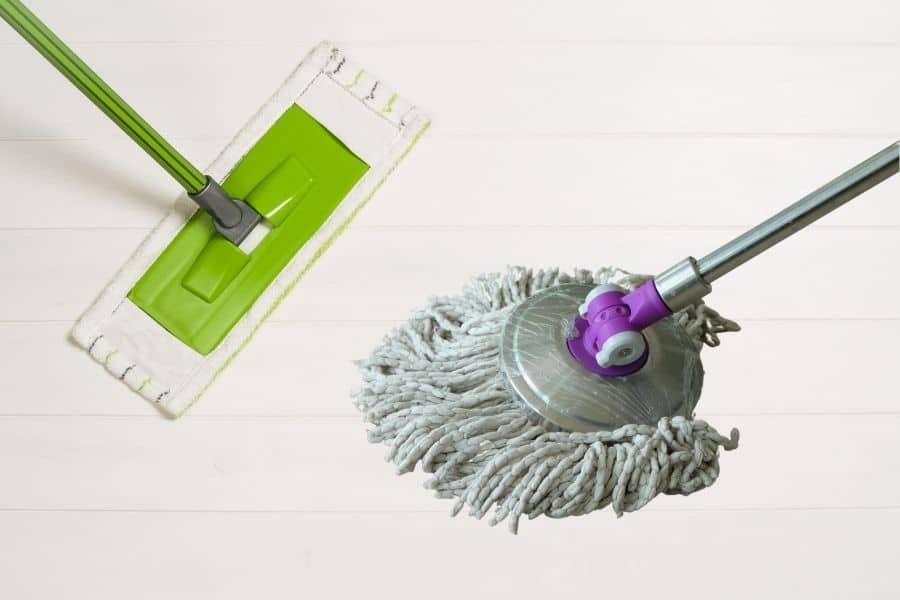 flat mop vs string mop