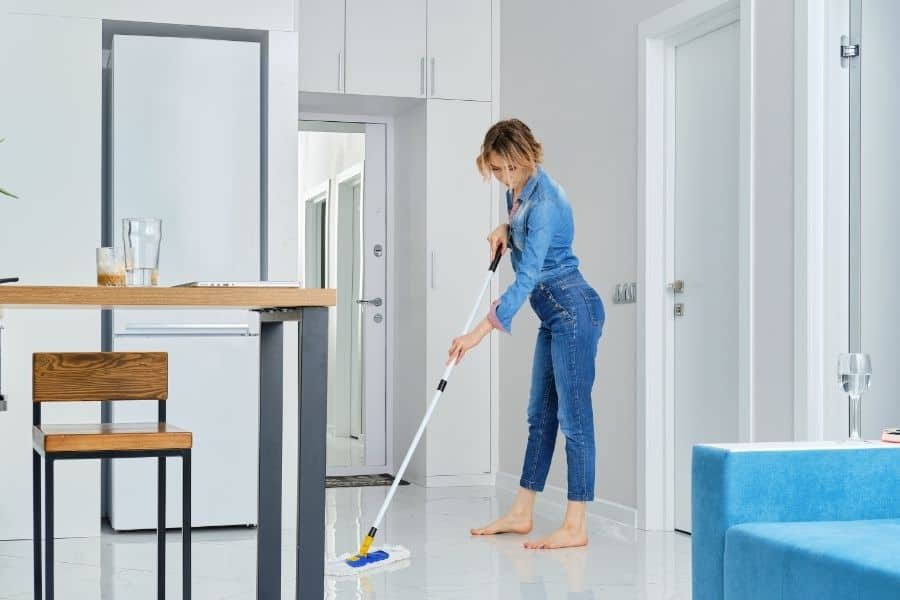 how often should you mop