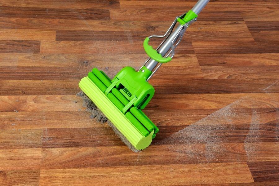 type of floors for sponge mop
