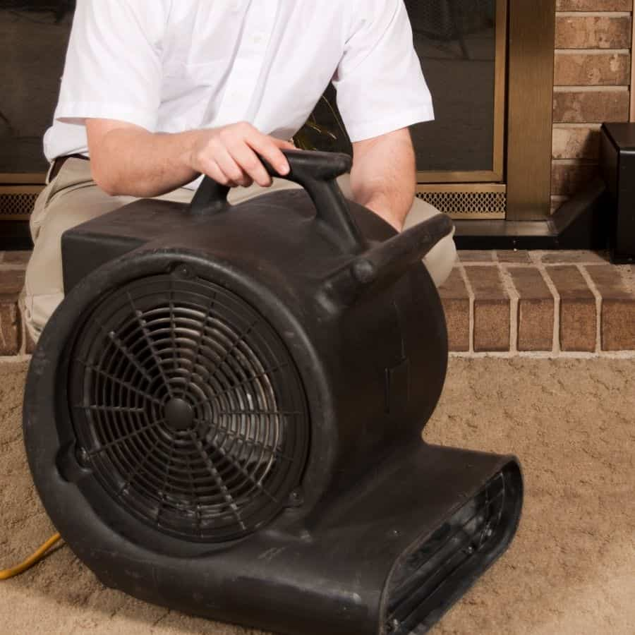 air mover for wet carpet