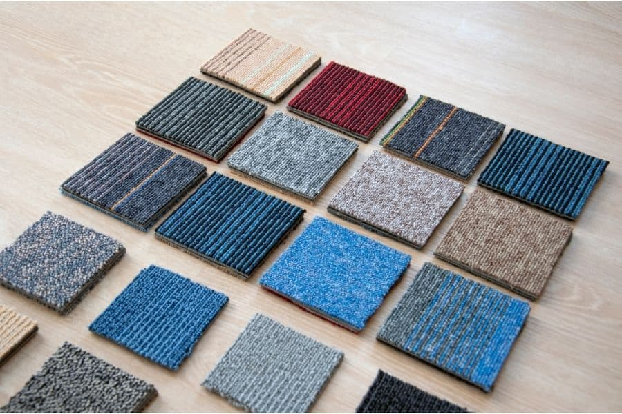 how to install carpet tiles without glue
