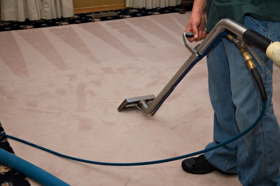 steam cleaning water damaged carpet