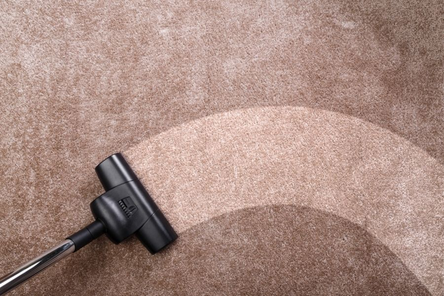 cleaning carpet without shampooer