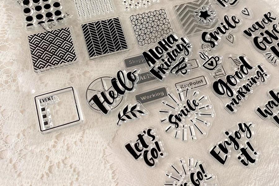 clear stamp storage ideas