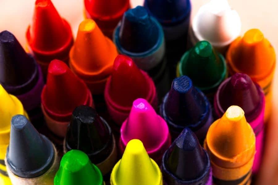 crayon storage ideas