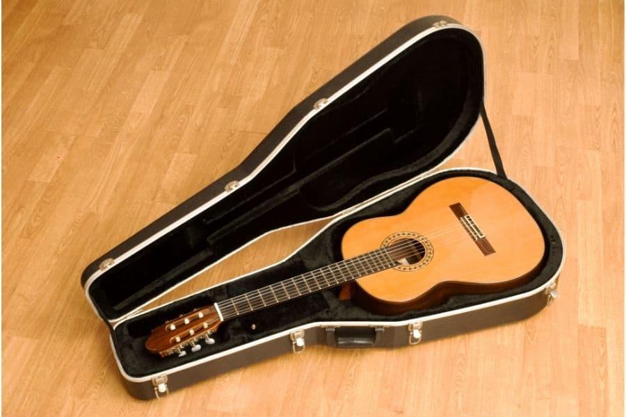 guitar case storage ideas