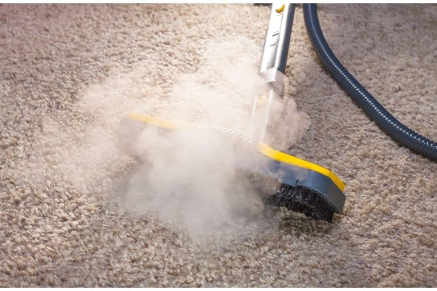 how to sanitize carpet without steam